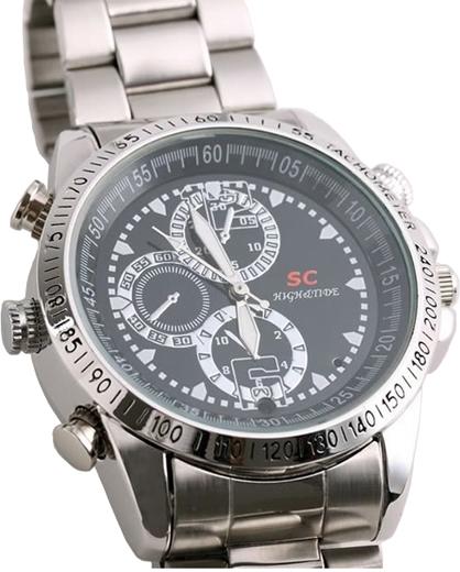 LC-W404 HD - zegarek szpiegowski HD - Kamery miniaturowe
