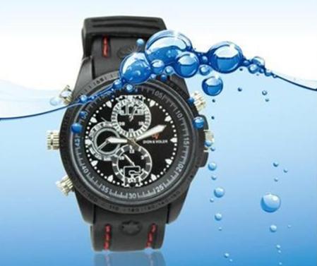 LC-W408 HD - zegarek z ukrytą kamerą - Kamery miniaturowe