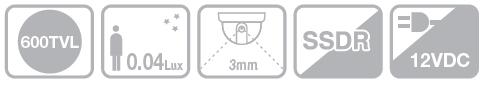 Samsung SCD-2010P - Kamery kopułkowe