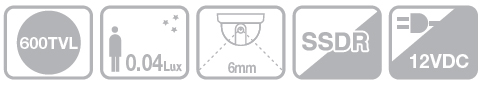 Samsung SCD-2030P - Kamery kopułkowe